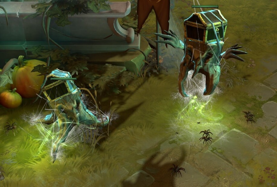 Legacy Stumpy Nature's Attendant Courier Dota 2