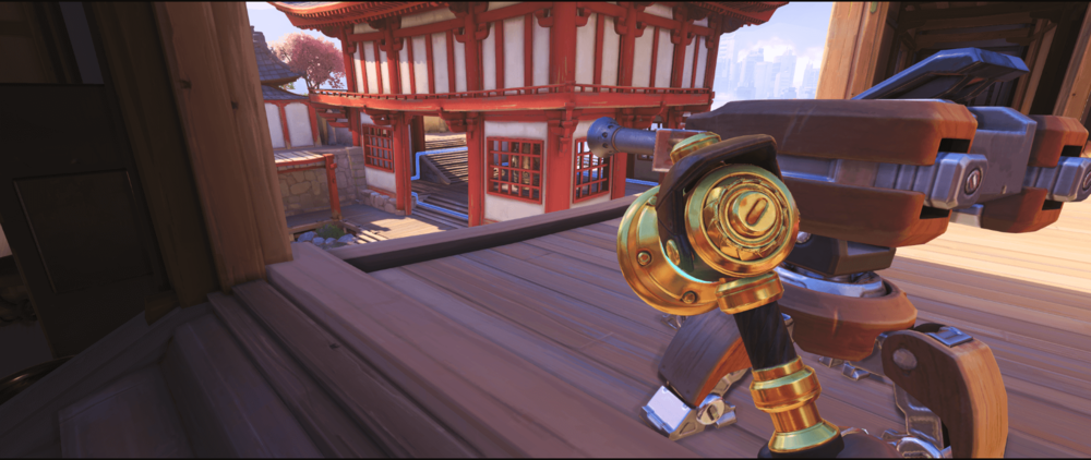 Hanamura Torbjorn turret secondary position point one