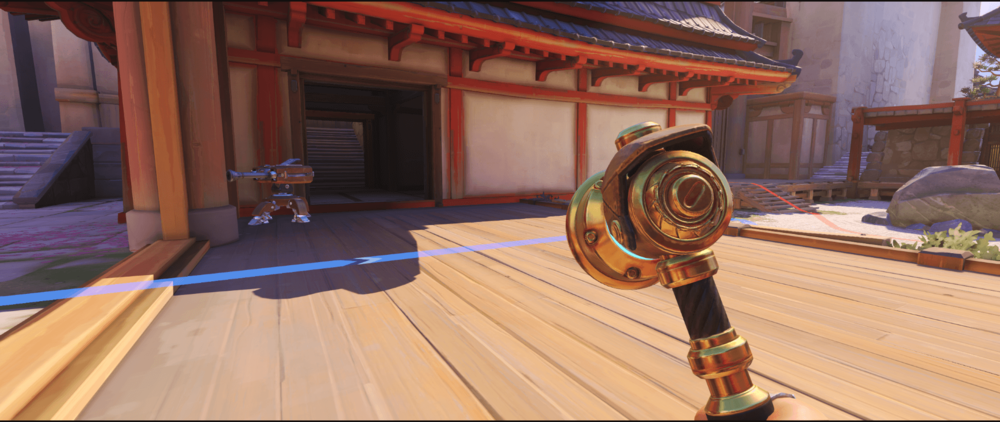 Hanamura Torbjorn turret side spot point one