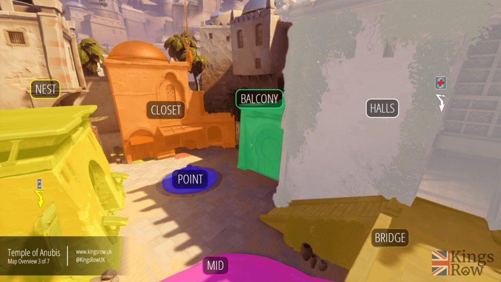 Map callouts: second area of the first point. All the callouts are  available here .