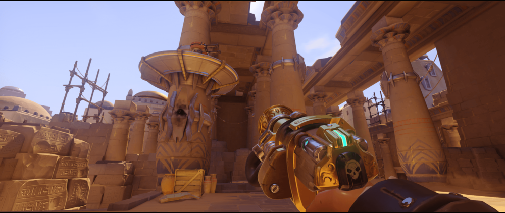 Anubis Torbjorn turret high ground position second point