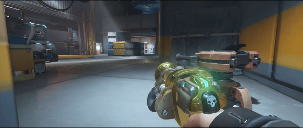 Torbjorn turret Watchpoint Gibraltar second point right location.png