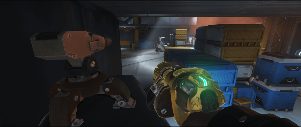 Torbjorn turret Watchpoint Gibraltar second point left location.png