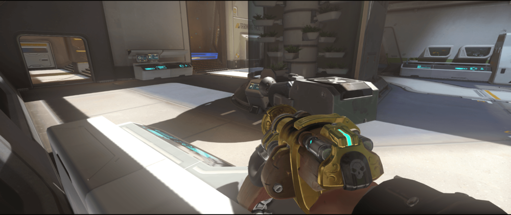 Torbjorn Turret Horizon Lunar Colony last hope spot first point.png