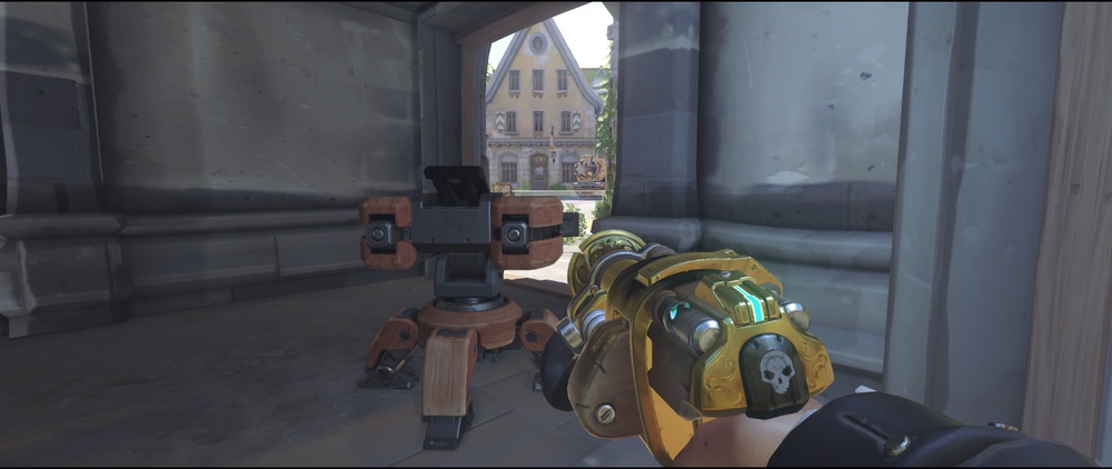 Torbjorn turret Eichenwalde protect point spot and anti dive.png