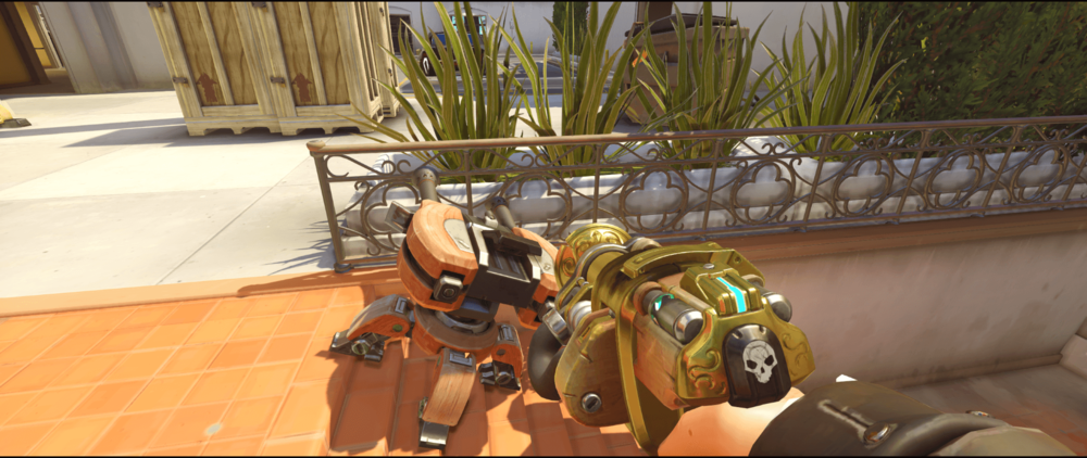 Torbjorn turret Holllywood main spot first point.png