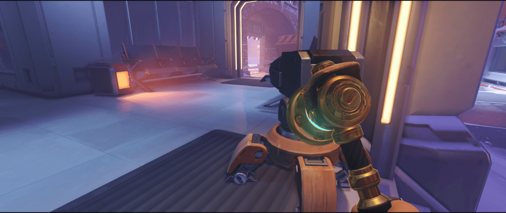 Torbjorn turret spot Volskaya Industries first point Overwatch