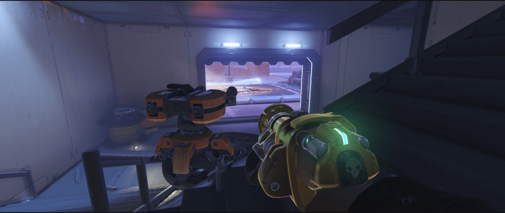 Torbjorn Turret Volskaya Industries one-time spot first point.png