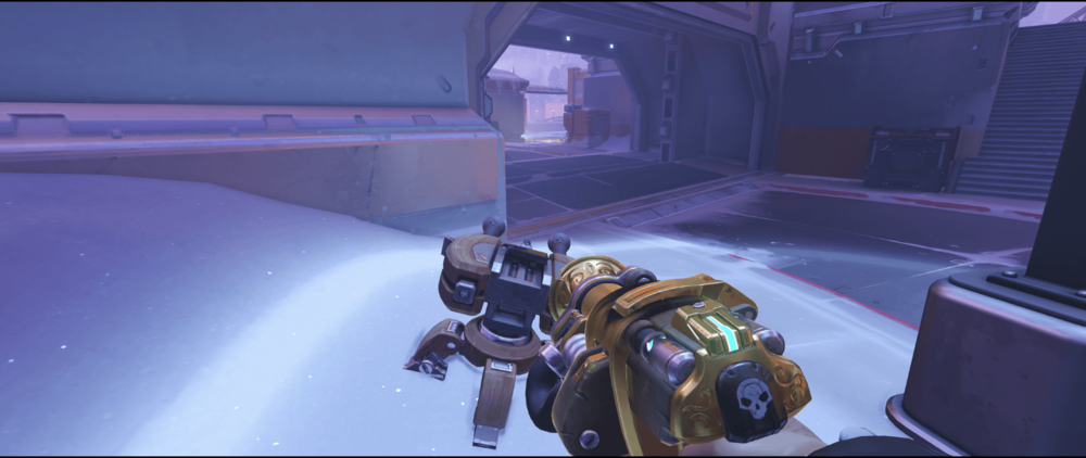 Torbjorn Turret Volskaya Industries very safe spot first point