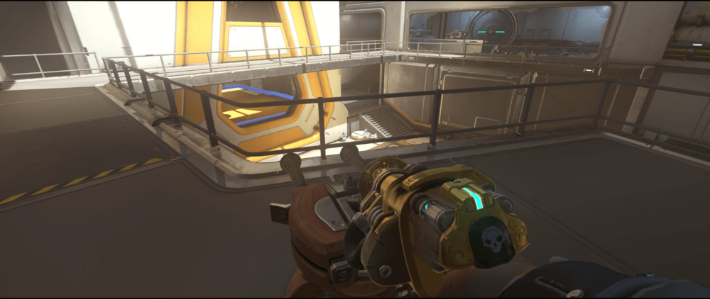 Torbjorn turret Horizon Lunar Colony high ground point one.png