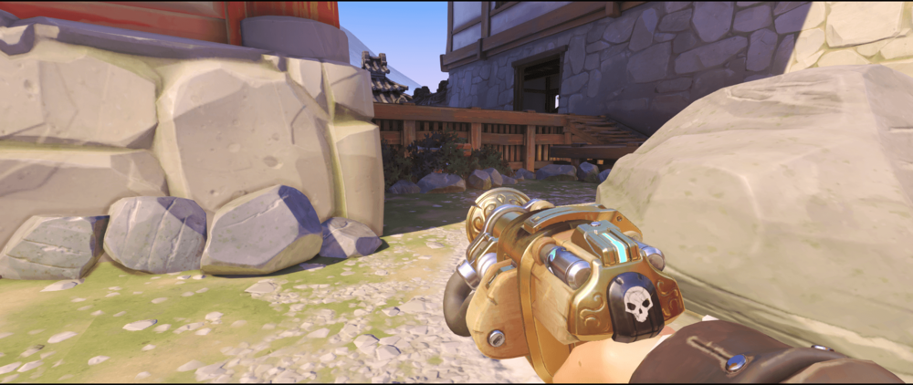 Torbjorn Turret Hanamura bush first point.png