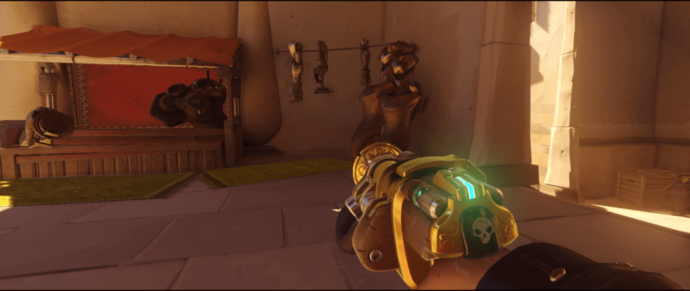 Torbjorn+Turret+Temple+of+Anubis+anti+dive+statue+point+one