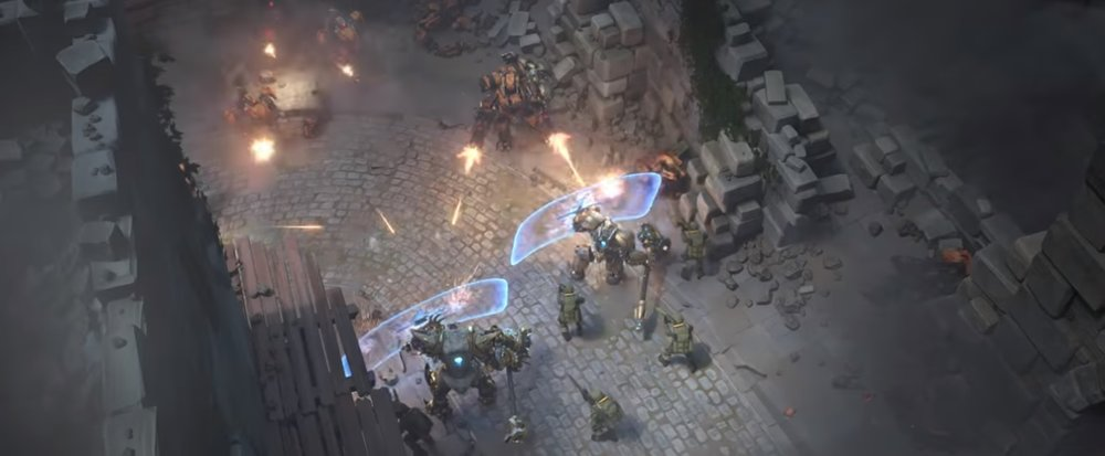 "Image from Blizzard's short ""Honor and Glory"""