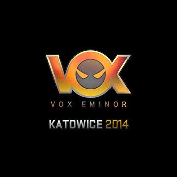 Sticker Vox Eminor (Holo) Katowice 2014 CSGO