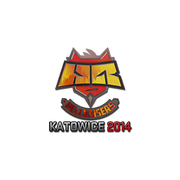 Sticker HellRaisers (Holo) Katowice 2014 CSGO