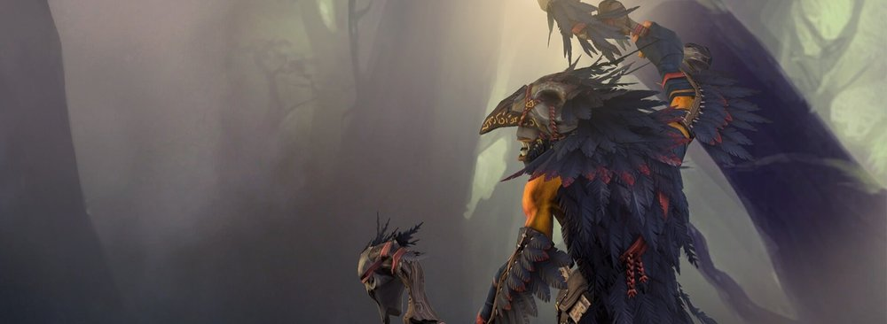 True Crow loading screen for Shadow Shaman - Image: Valve