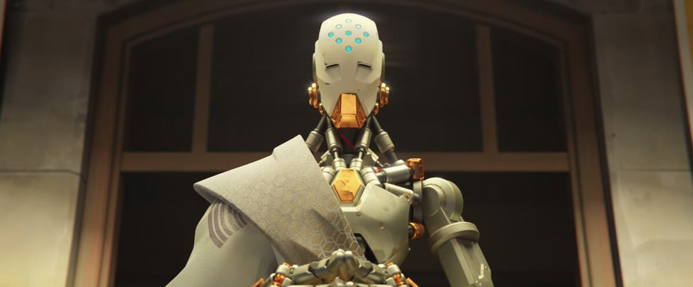 "Image from Overwatch animated short ""Alive"""