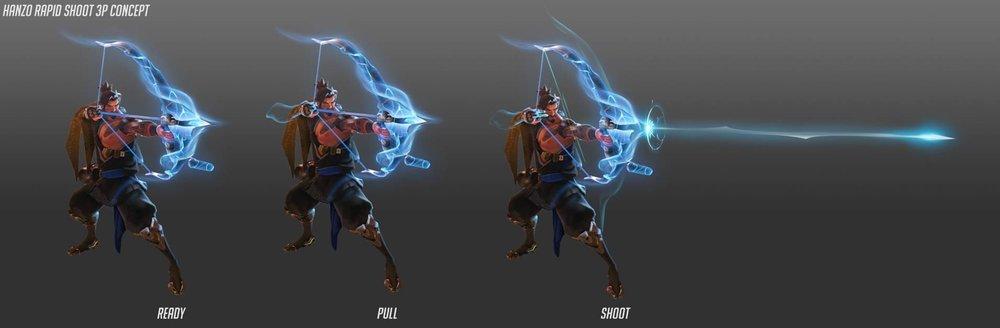 Rapid Shot concept art - Image: Blizzard