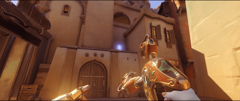 Symmetra shield generator spot Temple of Anubis secondary view point one.png