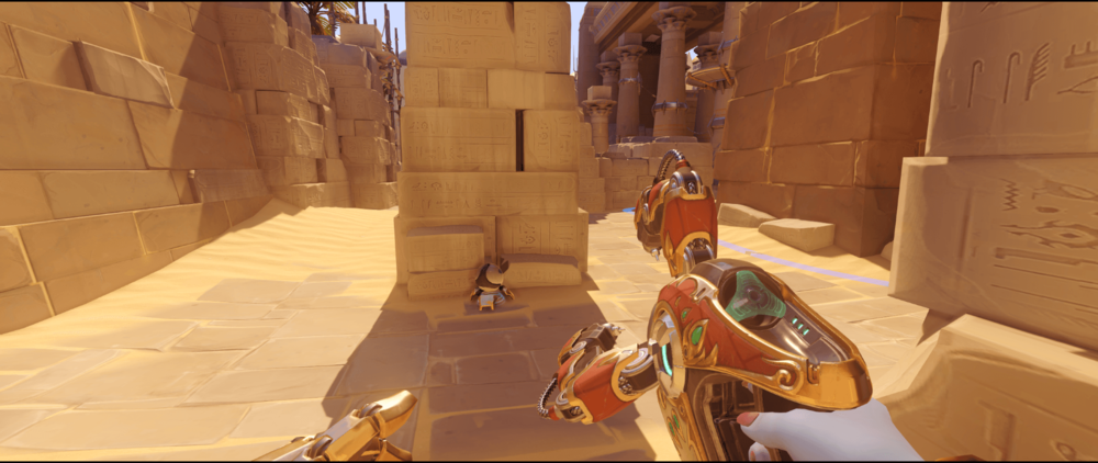 Symmetra shield generator spot Temple of Anubis pillar point two.png