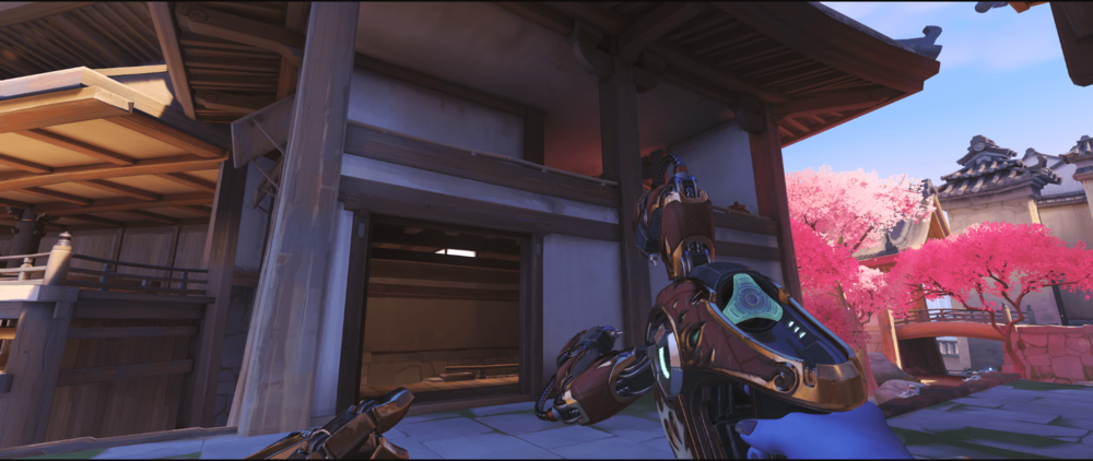 Symmetra Shield Generator spot Hanamura mei wall spot point one.png