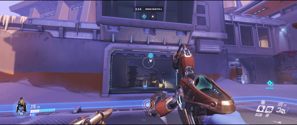 Symmetra shield generator spot Volskaya Industries main range point one.png