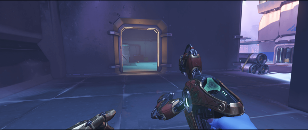 Symmetra shield generator spot Volskaya Industries alternative point one.png