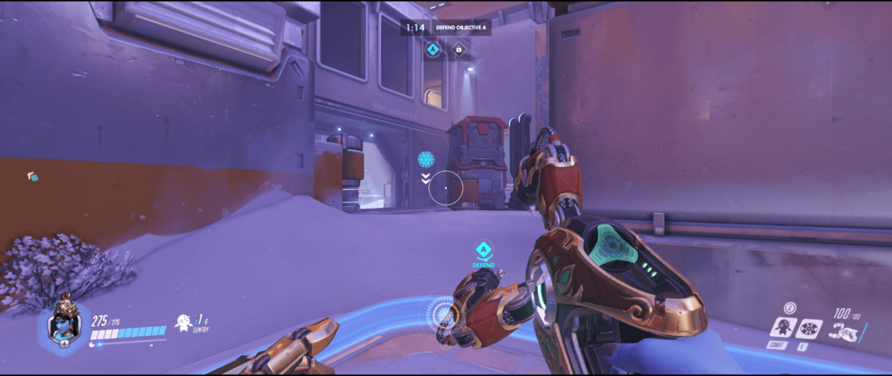 Symmetra shield generator spot Volskaya Industries alternative range point one.png