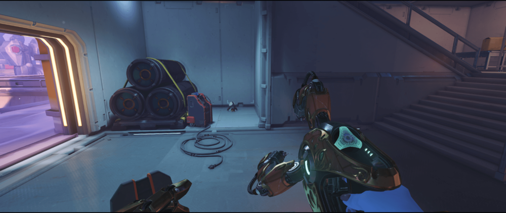 Symmetra shield generator spot Volskaya Industries low rank point one.png