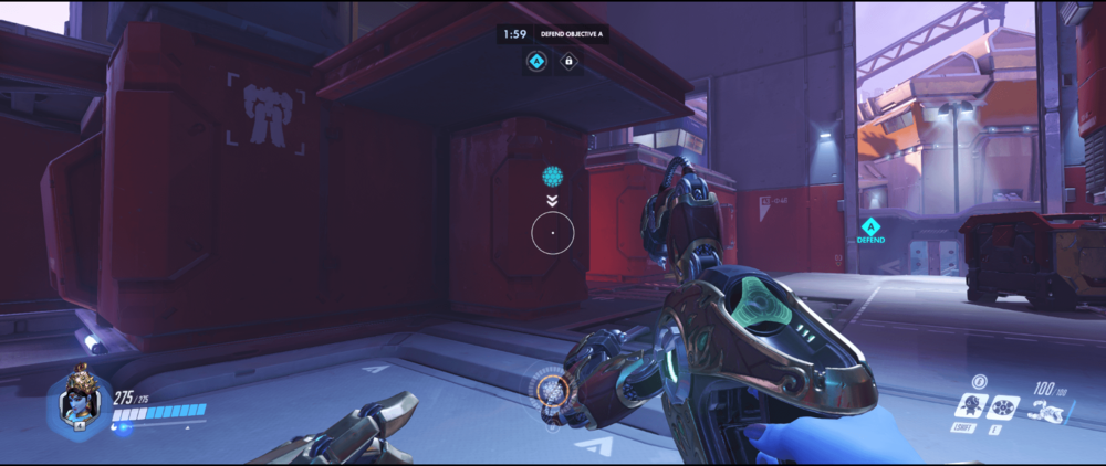 Symmetra shield generator spot Volskaya Industries green room range 2.png