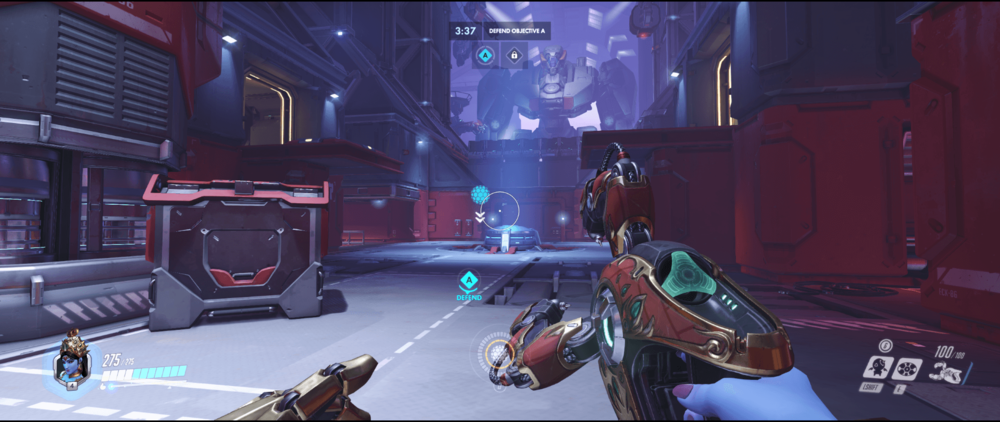 Symmetra shield generator spot Volskaya Industries main range point two.png