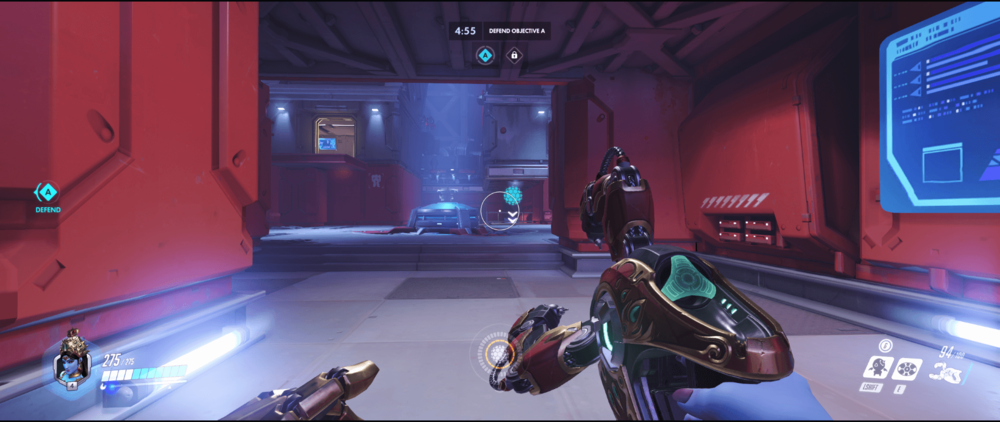 Symmetra shield generator spot Volskaya Industries secondary range point two 1.png