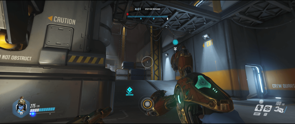 Symmetra shield generator spot Watchpoint Gibraltar main range second point.png