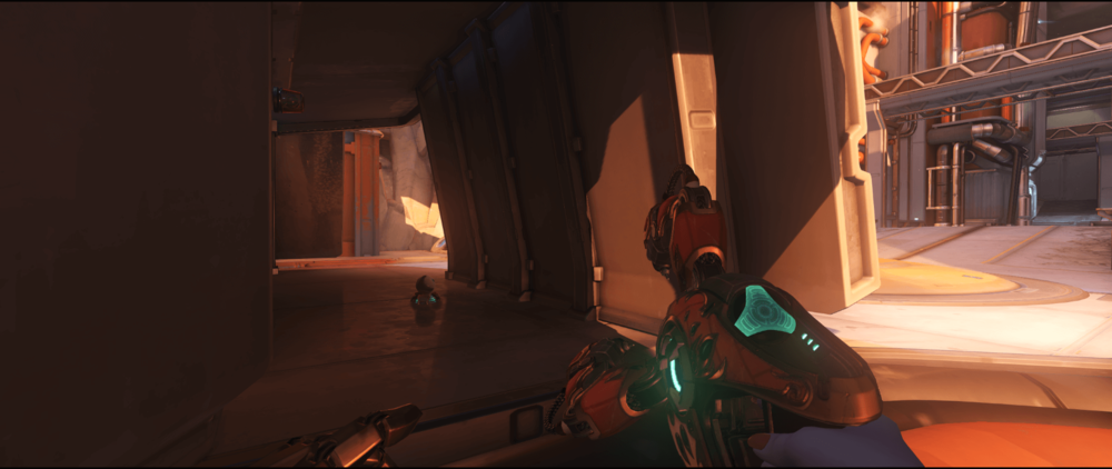 Symmetra shield generator spot Watchpoint Gibraltar wall third point.png