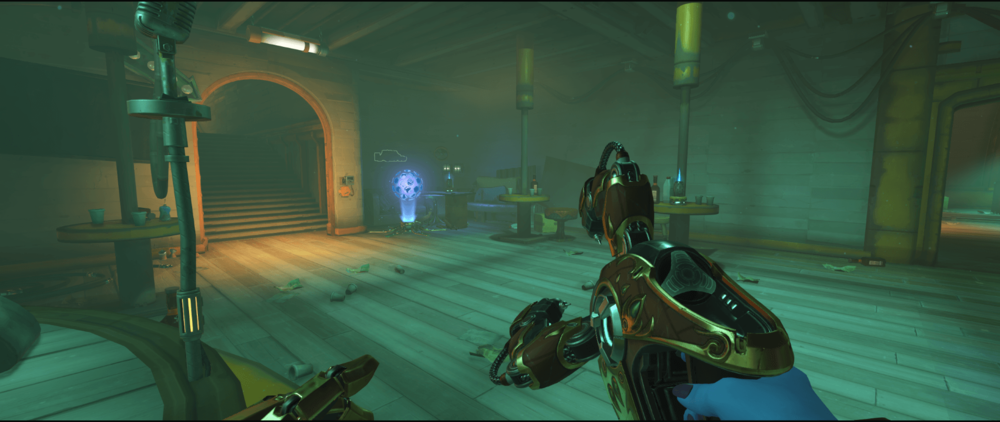 Symmetra Shield Generator spot Junkertown other spawn room second point.png