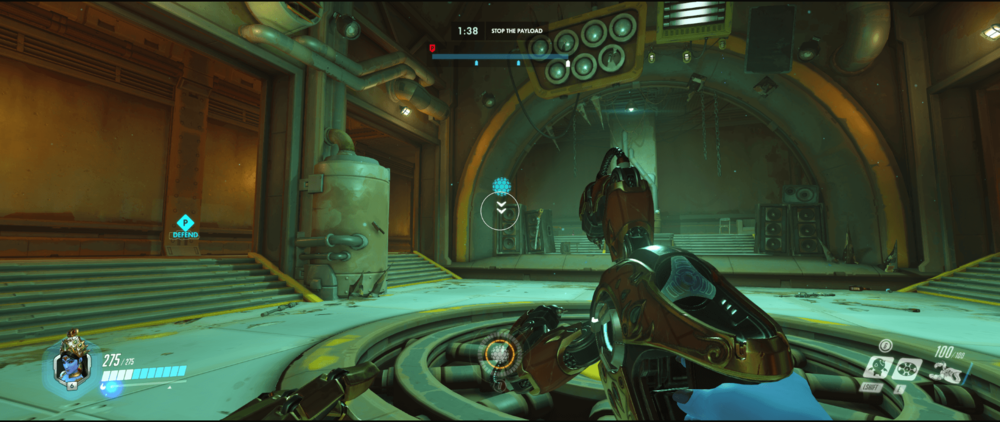 Symmetra Shield Generator spot Junkertown attack third point example range.png