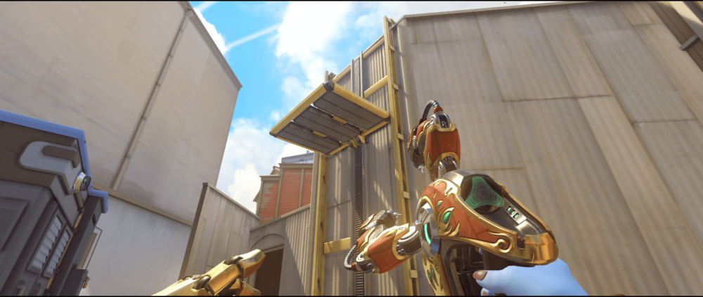 Symmetra shield generator spot Hollywood main first point.png