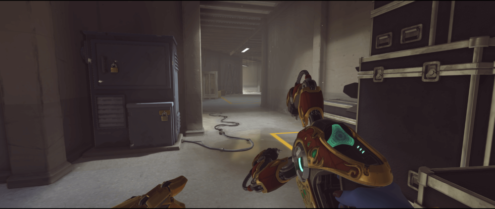 Symmetra shield generator spot Hollywood tunnel first point.png
