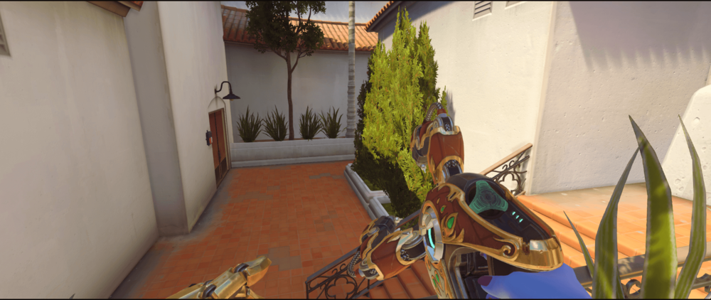 Symmetra shield generator spot Hollywood side 2 first point.png