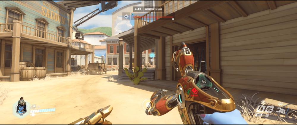 Symmetra shield generator spot Hollywood  main range 2 second point.png