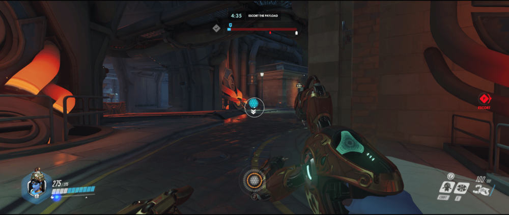 Symmetra shield generator spot King Row main range 2 second point.png