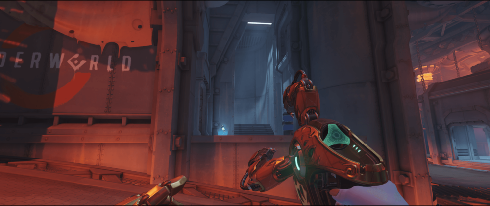 Symmetra shield generator spot King Row secondary second point.png