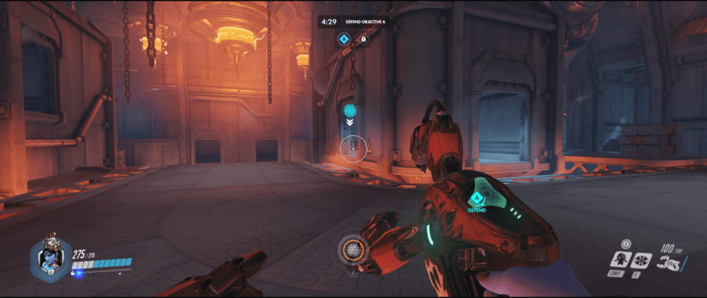 Symmetra shield generator spot King Row main range third point.png