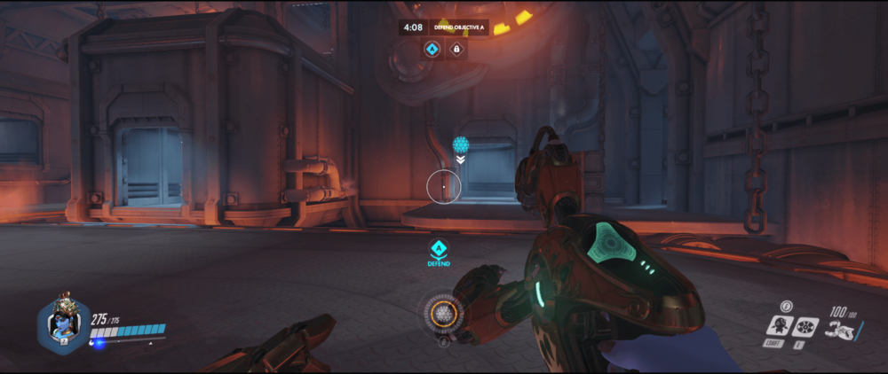 Symmetra shield generator spot King Row main range 2 third point.png