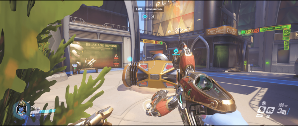 Symmetra shield generator spot Numbani secondary range 3 first point.png
