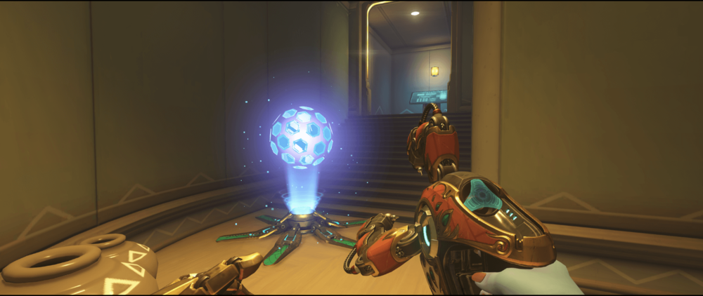 Symmetra shield generator spot Numbani main 2 second point.png