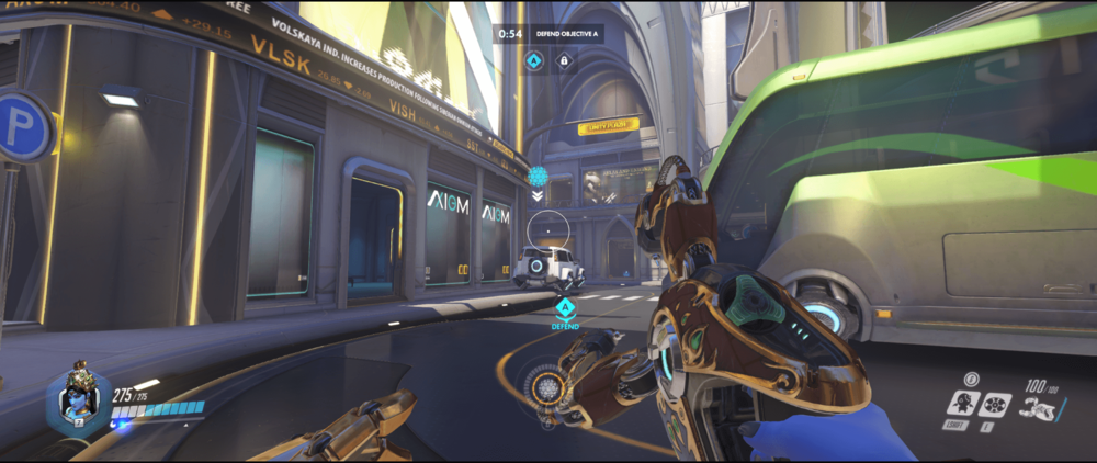 Symmetra shield generator spot Numbani main range second point.png