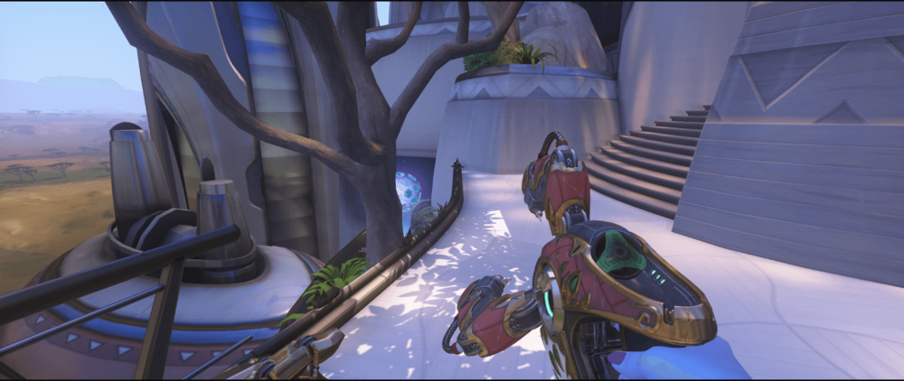 Symmetra shield generator spot Numbani main 2 third point.png