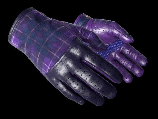 Driver Gloves Imperial Plaid CSGO