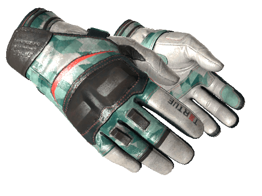 Moto Gloves Spearmint CSGO